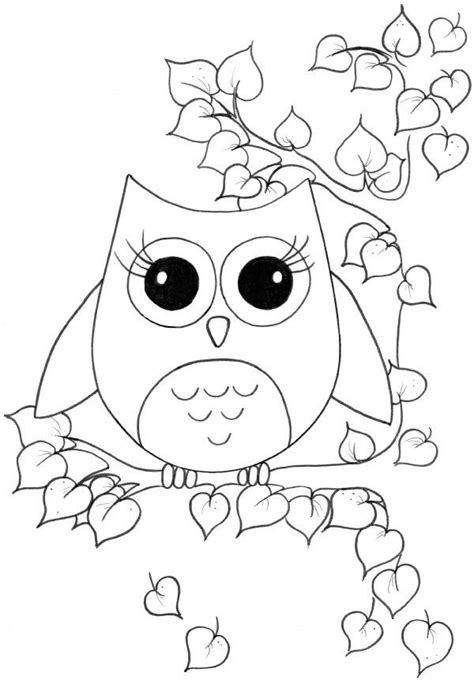Pictures Of Owls To Color by Owl Coloring Pages For Okuloncesi Boyama