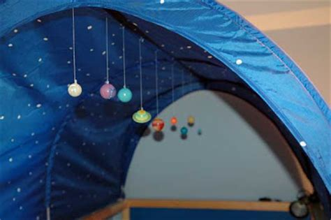from the fence post ikea hack kura bed tent planetarium