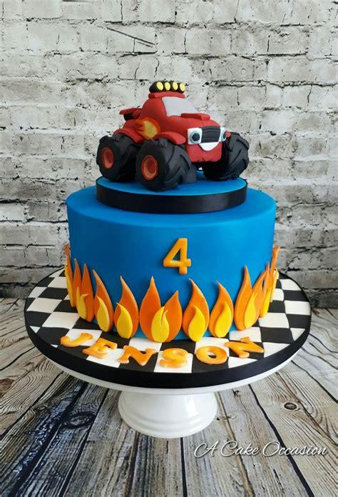 blaze birthday cake ideas  pinterest blaze