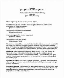 easy church board of directors meeting minutes template With annual board of directors meeting minutes template