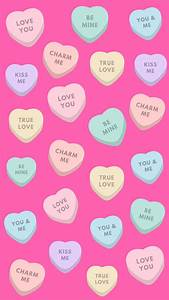 12 Super Cute Valentine's Day iPhone Wallpapers | Preppy ...