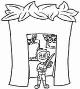 Sukkot Coloring Printable Drawing Torah Feast Tabernacles Preschool Jewish Crafts Sukkah Activities Familyholiday Simchat Rosh Hashanah Sheets Getdrawings Holidays Holiday sketch template