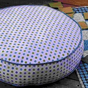 Coudre Une Housse De Coussin : des coussins de sol ronds marie claire ~ Melissatoandfro.com Idées de Décoration