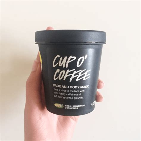 Succinct rundown of fresh face masks. ?Lush Cup O' Coffee Face and Body Mask- Review? - Life of Shar