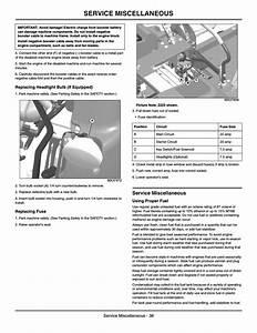 Replacing Headlight Bulb  Replacing Fuse  Service