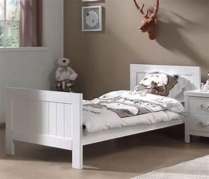 Lit 1 Place But : lit avec lit gigogne blanc parker ~ Teatrodelosmanantiales.com Idées de Décoration