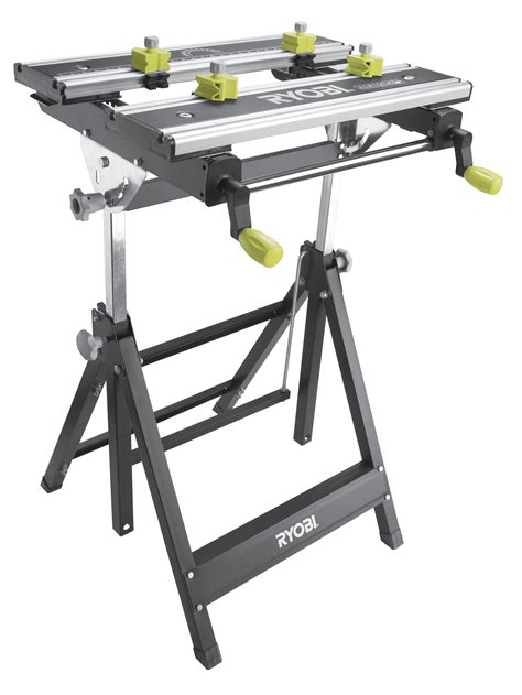 ryobi foldable metal workbench bunnings warehouse marcenaria bancada