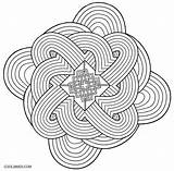 Kaleidoscope Coloring Pages Printable Cool2bkids sketch template