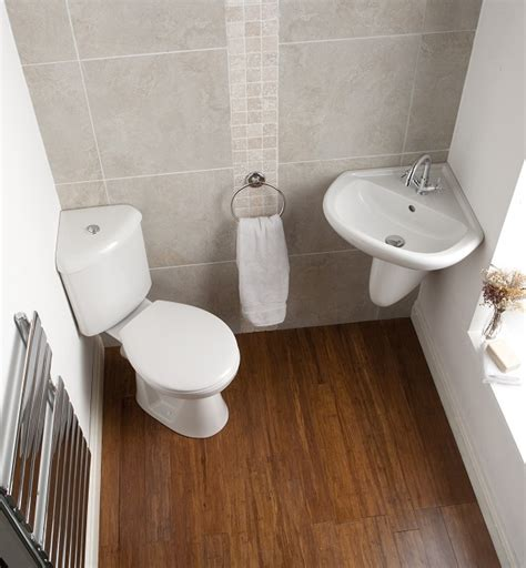 toilet and sink in one how can i make my small bathroom look bigger