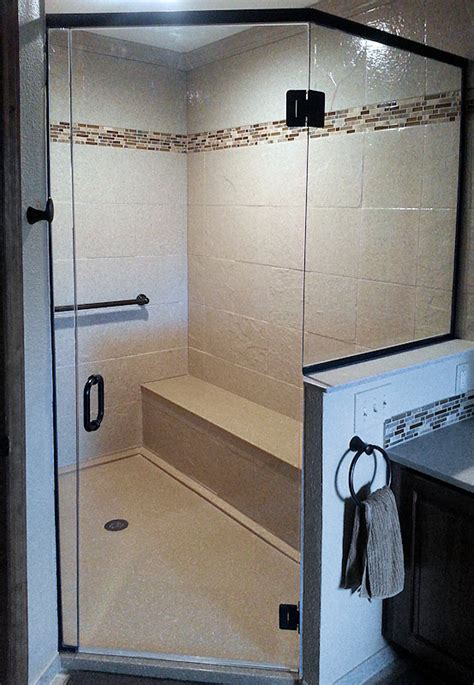Stone Shower Surround by Wall Panels