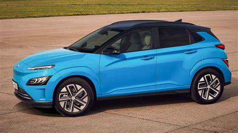 2021 Hyundai Kona Electric Facelift Debuts - To Go On Sale ...