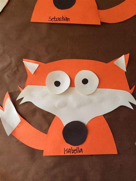 25 unique fox crafts ideas on felt fox fox 808 | 5dfd314d2f340bbdec839983442d89ae fox craft preschool preschool ideas