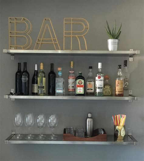 Why Bar Shelves Are The Next Big Thing In Interior Design