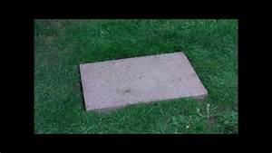 Betonplatten Verlegen Auf Erde : verlegung auf rasen steinplatte youtube ~ Whattoseeinmadrid.com Haus und Dekorationen