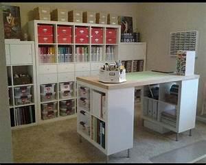 Nähzimmer Einrichten Mit Ikea : n hzimmer tisch und regal k the n hte ~ Orissabook.com Haus und Dekorationen