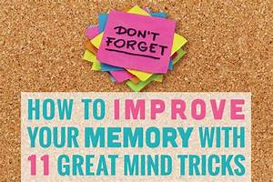 How to Improve Your Memory With 11 Great Mind Tricks ...