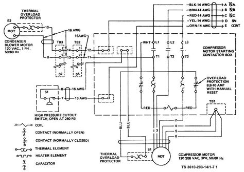 figure   air conditioner wiring diagram sheet