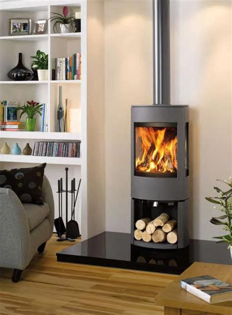 Scandinavia is known not only for its minimalist home décor but also the practicality and usability of their furniture designs. My favourite stove! I'd have it on a glass hearth tho! Dovre 3cb! | Contemporary wood burning ...