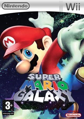 super mario galaxy wii box art cover  acdcrocks