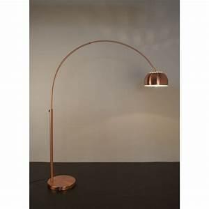 Lampadaire Salon Design : lampadaire cuivre arceau bow ~ Preciouscoupons.com Idées de Décoration