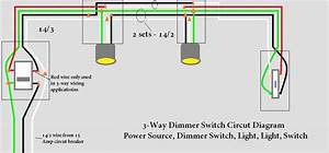 Light Switch 3 Way Dimmer Wiring Diagram