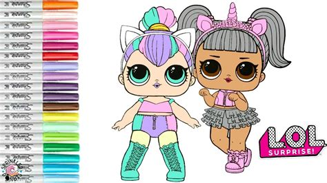 Lol Doll Coloring Pages Kitty Queen