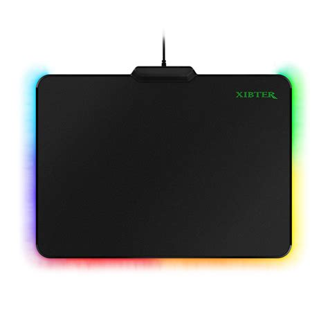 free shipping rgb gaming mouse pad hard mat anti silp