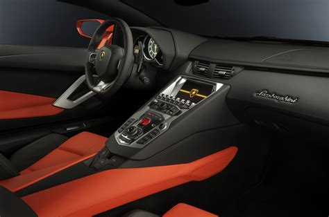 Wallpaper Lamborghini Aventador, Supercar, Interior