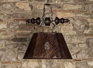 Kronleuchter Mit Lampenschirm : kronleuchter mit lampenschirm aus krokodilleder gedruckt idfdesign ~ Markanthonyermac.com Haus und Dekorationen