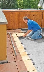 Dachterrasse Fliesen Aufbau : dachterrasse fliesen terrasse balkon ~ Indierocktalk.com Haus und Dekorationen