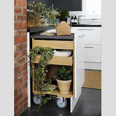 Ausziehbare Arbeitsplatte  Inspiration Für Kleine Küchen