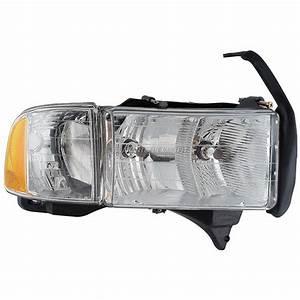 1999 Dodge Ram Trucks Headlight Assembly Right Passenger