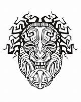 Mayan Aztec Mask Inca Coloring Pages Incas Adult Mayans Drawing Aztecs Inspiration Skull Adults Drawings Printable Warrior Inspired Template God sketch template