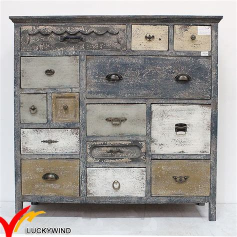 shabby vintage chic wooden cabinets   drawers buy cabinets  drawerswooden cabinet