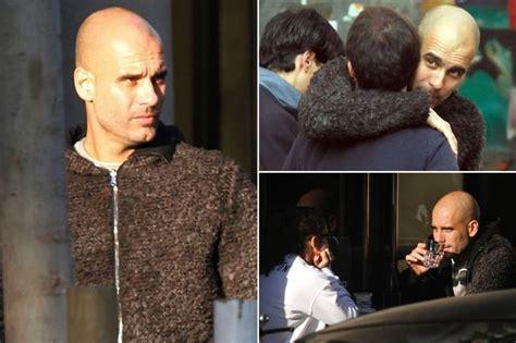 Scegli tra immagini premium su josep guardiola family della migliore qualità. Pep Guardiola returns to Barcelona as Manchester City and United target weighs up his future ...