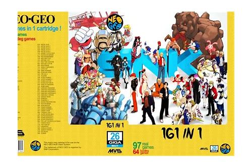 snk vs capcom descargar gratuita neo geo