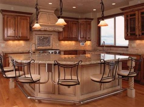 kitchen islands designs with seating this island suspension of disbelief kitchen island