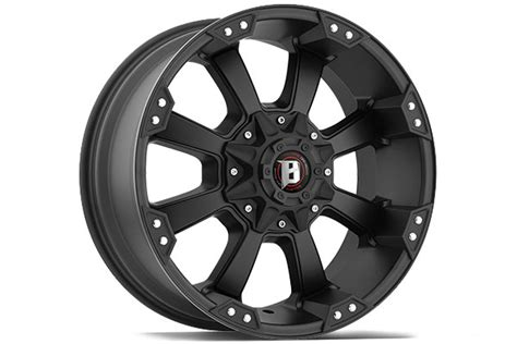 845 Ballistic Off Road Rims