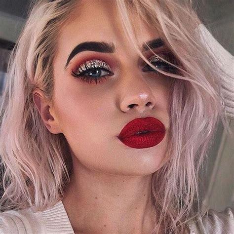 red lip makeup ideas cherrycherrybeauty