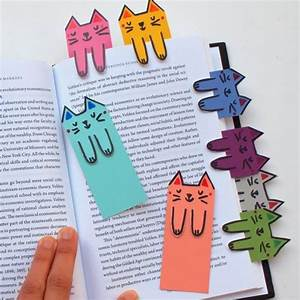 Cat and book lovers unite! These cute cat bookmarks are ...