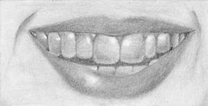How to Draw a Smiling Mouth with Teeth – Tutorial | Learn ...