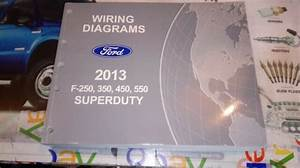 2013 Ford F250 F350 F450 F550 S Duty Trucks Factory Wiring
