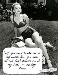 Marilyn monroe, You are sexy and Be confident on Pinterest