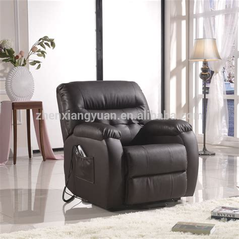 living room leather electric recliner lift chair for aged