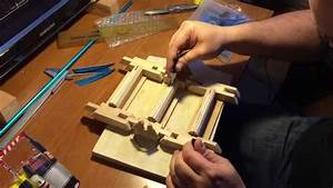 DIY Fletching Jig - three feathers at once - YouTube