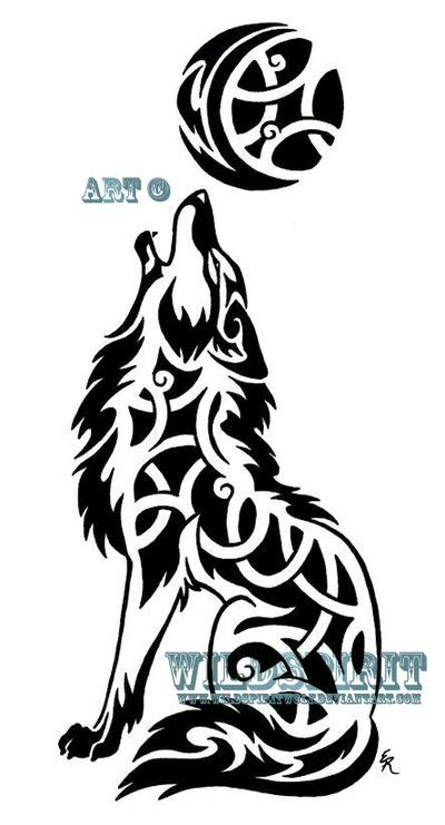 ideas  celtic wolf tattoo  pinterest