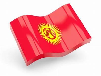 Flag Turkey Icon Tunisia Kyrgyzstan Wave Glossy