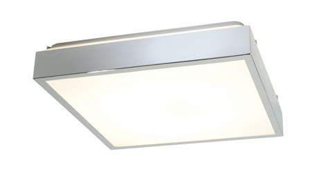 saxby cubita large 35215 square bathroom ceiling light 38w