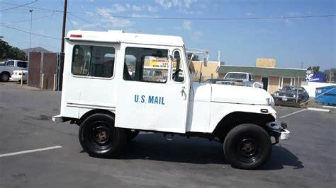 postal jeep for sale 77 us mail postal jeep amc rhd nice rmd truck for sale