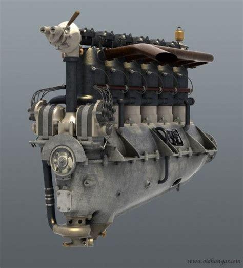 mercedes diiiww inline  aero engine  hp